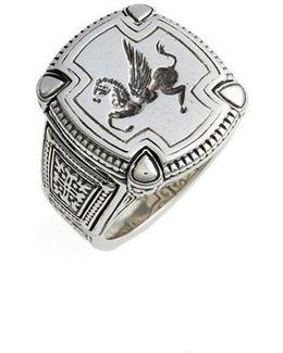 Silver Classics Pegasus Ring