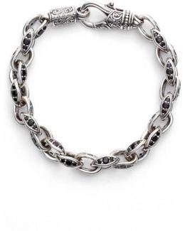 Semiprecious Stone Link Bracelet