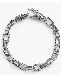 'classics' Etched Link Bracelet