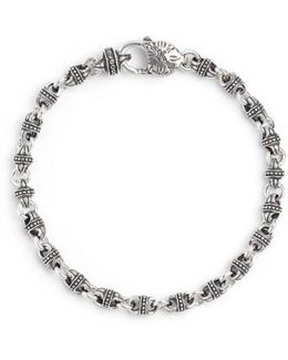 Silver Classics Link Bracelet