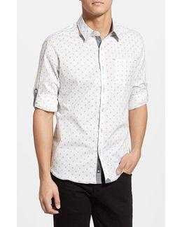 'reflector' Trim Fit Woven Shirt