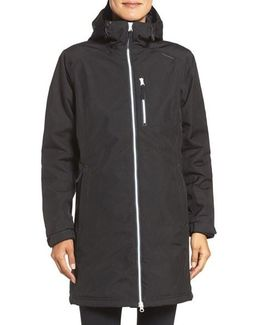 'belfast' Long Waterproof Winter Rain Jacket
