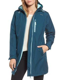 'belfast' Long Waterproof Winter Rain Jacket