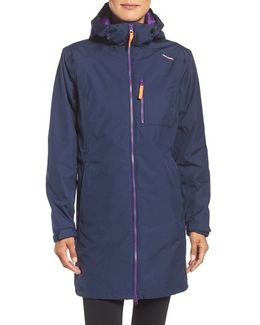 Belfast Long Waterproof Winter Rain Jacket