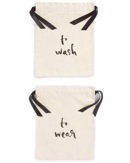 'wash And Wear' Lingerie Bag Set