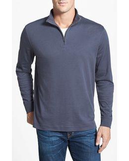 'belfair' Quarter Zip Pima Cotton Pullover
