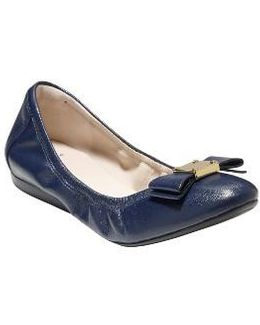 'tali' Leather Ballet Flat