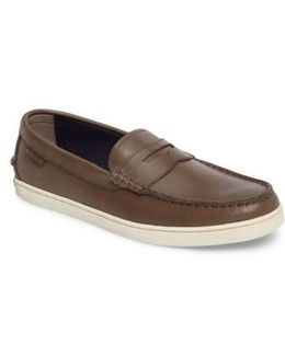 'pinch Weekender' Canvas Penny Loafer