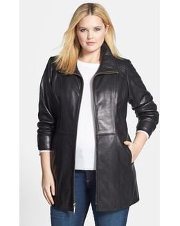 Leather Walking Coat