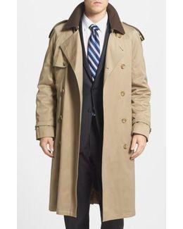 Men'S 'Barrington' Cotton Blend Trench Coat