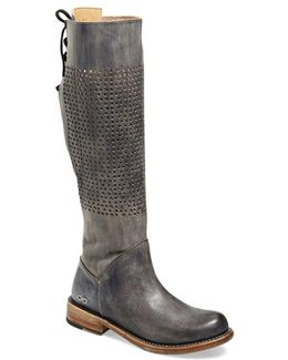 'cambridge' Knee High Leather Boot