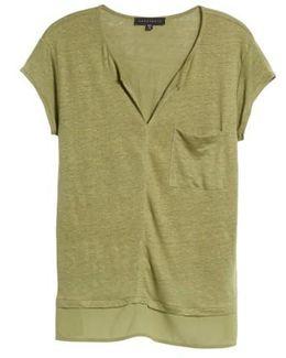 City Mix Linen T-Shirt