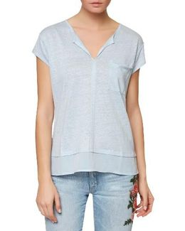 City Mix Layered Look Tee