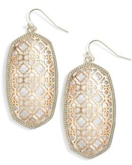 Danielle Large Openwork Statement Earrings