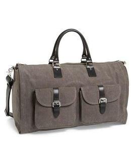Canvas Garment/duffel Bag