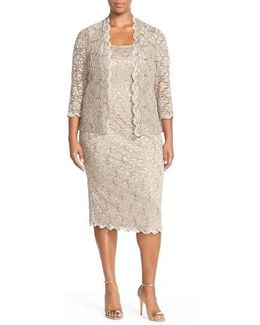 Lace Dress & Jacket