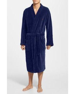 Velour Kimono Robe