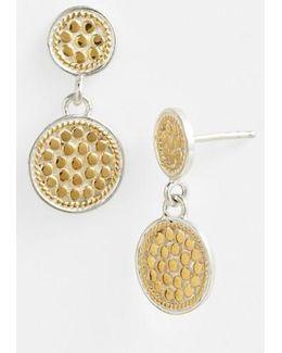 'gili' Double Disc Earrings