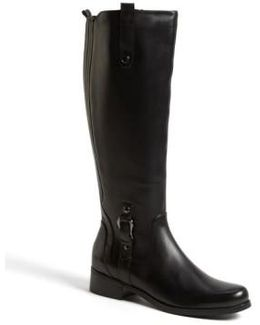 'venise' Waterproof Leather Riding Boot