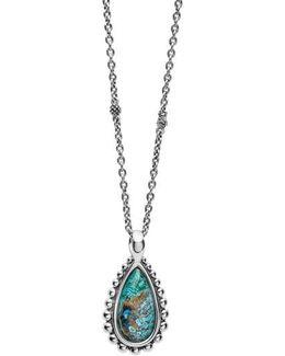 'maya' Teardrop Pendant Necklace