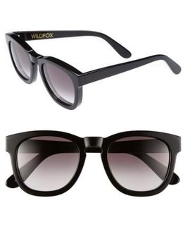 'classic Fox' 50mm Retro Sunglasses
