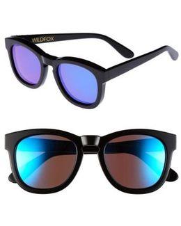 'classic Fox - Deluxe' 52mm Sunglasses