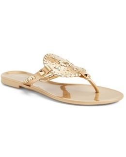 'georgica' Jelly Flip Flop