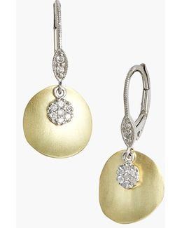 Meirat 'charmed' Diamond Drop Earrings