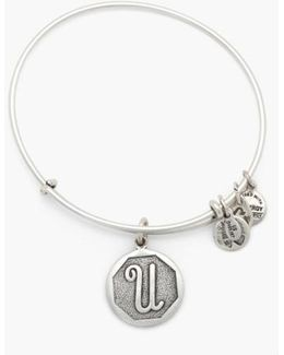 'initial' Adjustable Wire Bangle