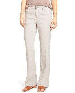'wylie' Five-pocket Linen Trousers