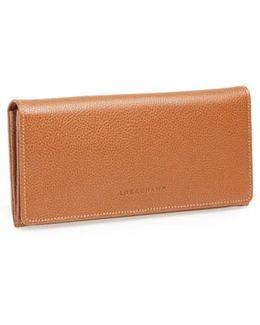 'veau' Continental Wallet