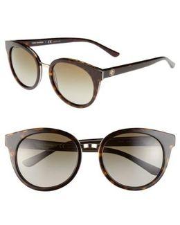 'phantos' 53mm Retro Sunglasses