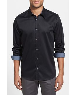 Plancuf Extra Slim Fit Stretch Sport Shirt