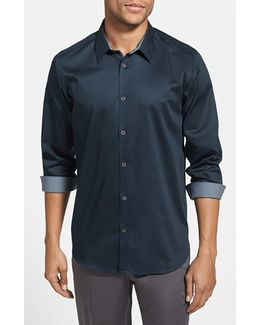 Plancuf Extra Slim Fit Stretch Sport Shirt