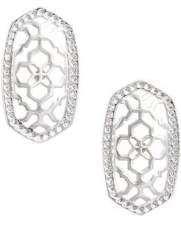 Ellie Oval Stud Earrings