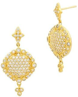'mercer' Pave Drop Earrings