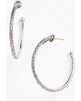 'classics' Medium Hoop Earrings