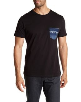 Bascon Graphic Chest Pocket Tee