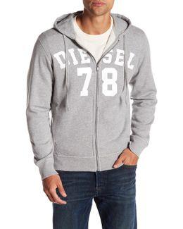 Gunter Zip Up Sweatshirt