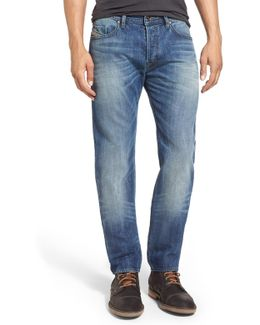 'buster' Slim Straight Fit Jeans (denim)