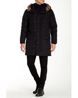 Kirton Faux Fur Trim Hooded Jacket