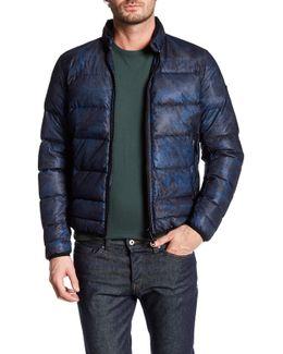 W-yulius-1 Genuine Leather Collar Jacket