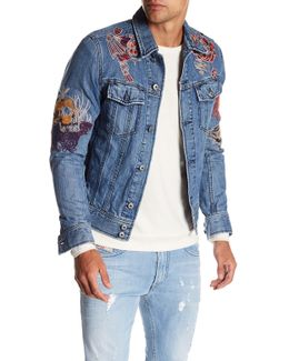 Jim Embroidered Denim Jacket