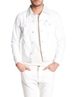 D-jim Genuine Leather Collar Jacket
