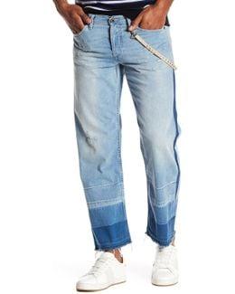Khiro Released Hem Straight Leg Jeans
