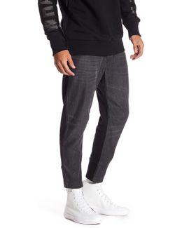 Narrot Knit Back Slim Jeans