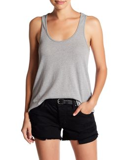 Backstage Scoop Neck Tank
