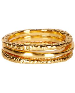 Stackable Ring Set - Set Of 3 - Size 5