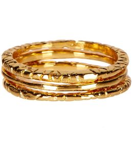 Stackable Ring Set- Set Of 3 - Size 9