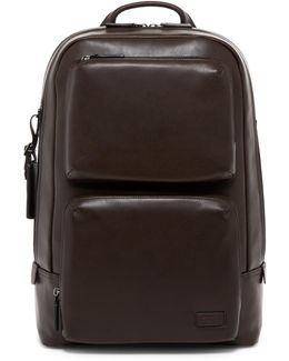 Archer Leather Backpack